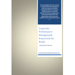 Corporate Performance Management framework for Banks