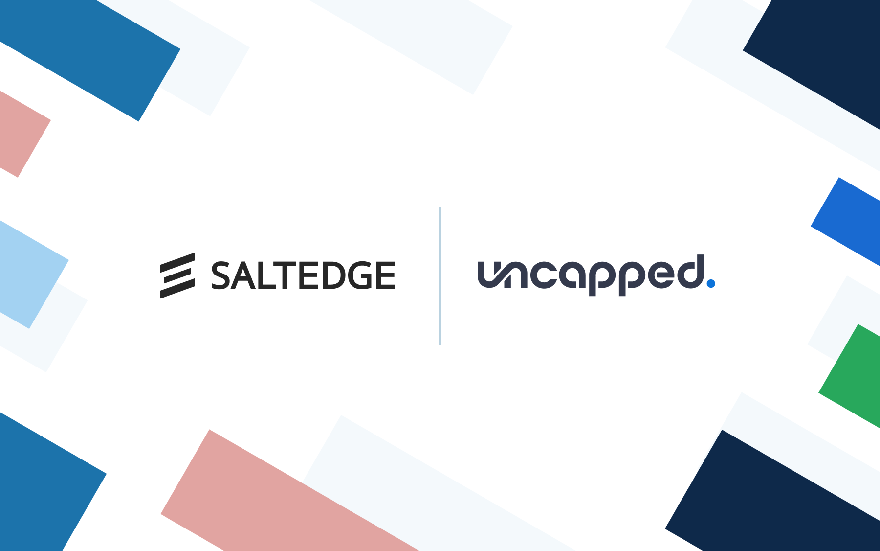 Salt Edge to Accelerate Uncapped's Eligibility Checks for Funding