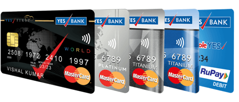 Now customers have wider assortment of debit cards with Yes Bank