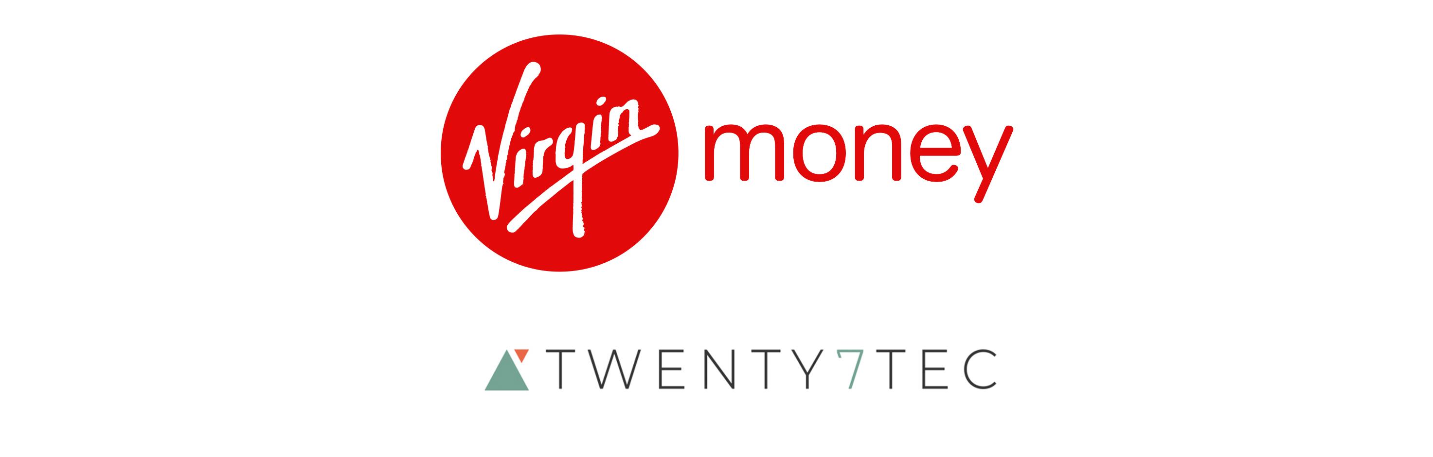 Virgin Money Launches Innovative Partnership With Twenty7Tec