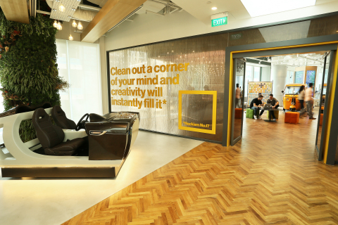 Visa's First Innovation Center in Asia was Launched